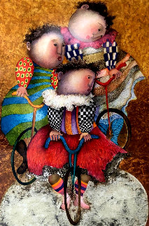 Autour Du Monde 2001 Limited Edition Print by Graciela Rodo Boulanger