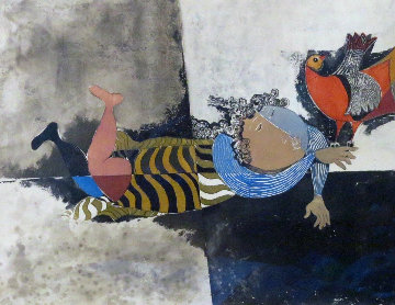 Oiseau Indifferent 1975 Limited Edition Print by Graciela Rodo Boulanger