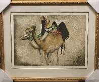 Three Camels From Animal Suite 1987 Limited Edition Print by Graciela Rodo Boulanger - 1