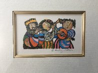 Three Musicians Limited Edition Print by Graciela Rodo Boulanger - 2