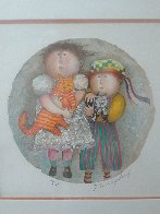 Deux Chat 2002 Limited Edition Print by Graciela Rodo Boulanger - 4