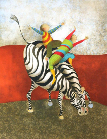 Zebra II  Limited Edition Print by Graciela Rodo Boulanger
