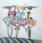 Holiday on Wheels   1976 Limited Edition Print - Graciela Rodo Boulanger