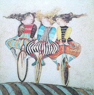 Holiday on Wheels   1976 Limited Edition Print by Graciela Rodo Boulanger