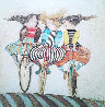 Holiday on Wheels   1976 Limited Edition Print by Graciela Rodo Boulanger - 0