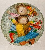 Deux Pour Deux Suite of 4 2002 Limited Edition Print by Graciela Rodo Boulanger - 2