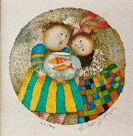 Deux Pour Deux Suite of 4 2002 Limited Edition Print by Graciela Rodo Boulanger - 1