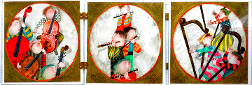 Suite of 6: Untitled Lithographs of Musicians 1987 Limited Edition Print - Graciela Rodo Boulanger