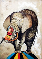 An Elephant For Kris Limited Edition Print by Graciela Rodo Boulanger - 0