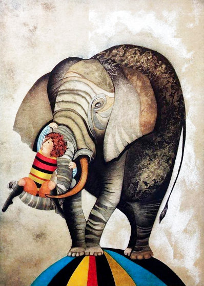An Elephant For Kris Limited Edition Print by Graciela Rodo Boulanger