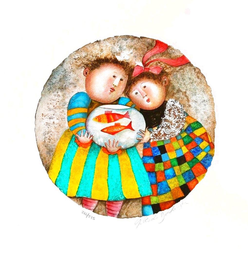 Deux Pour Deux 2002 Limited Edition Print by Graciela Rodo Boulanger