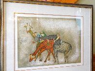 Giraffes 1980 Limited Edition Print by Graciela Rodo Boulanger - 1