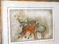 Giraffes 1980 Limited Edition Print by Graciela Rodo Boulanger - 3