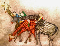 Giraffes 1980 Limited Edition Print by Graciela Rodo Boulanger - 0