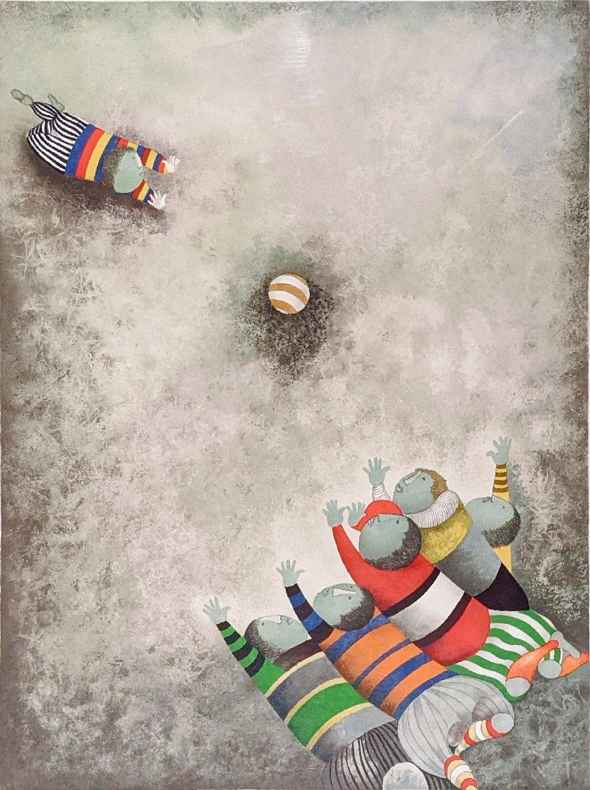 Jeu De Ballon (Balloon Game) 1980 Limited Edition Print by Graciela Rodo Boulanger