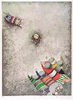 Jeu De Ballon (Balloon Game) 1980 Limited Edition Print by Graciela Rodo Boulanger - 2