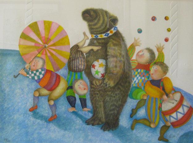 Parade 2003 Limited Edition Print by Graciela Rodo Boulanger
