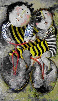 Bicycles EA  Limited Edition Print by Graciela Rodo Boulanger