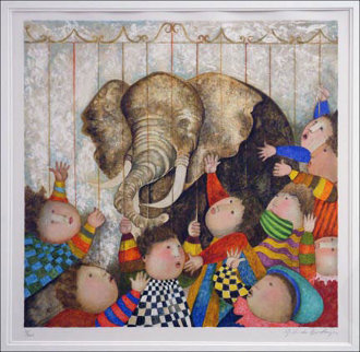 Zoo Limited Edition Print by Graciela Rodo Boulanger