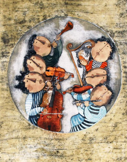 Music From the Music suite Limited Edition Print by Graciela Rodo Boulanger
