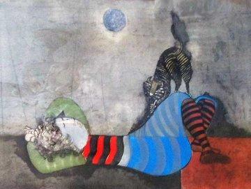Enfant Le Chat 1976 Limited Edition Print by Graciela Rodo Boulanger