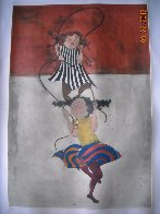 Two Girls Jumping Rope Limited Edition Print by Graciela Rodo Boulanger - 5