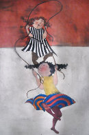 Two Girls Jumping Rope Limited Edition Print by Graciela Rodo Boulanger - 3