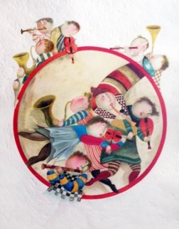 Circle of Musicians  1980 Limited Edition Print - Graciela Rodo Boulanger