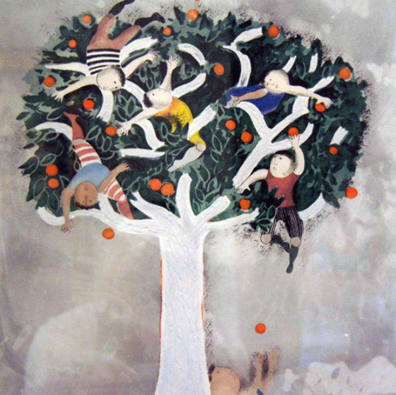 Seasons Suite of 4  1989 Limited Edition Print by Graciela Rodo Boulanger