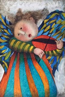 Musique Des Anges Suite of 4 1998 Limited Edition Print by Graciela Rodo Boulanger