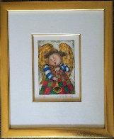 Musique Des Anges Suite of 4 1998 Limited Edition Print by Graciela Rodo Boulanger - 6