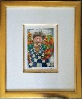 Musique Des Anges Suite of 4 1998 Limited Edition Print by Graciela Rodo Boulanger - 9