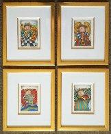 Musique Des Anges Suite of 4 1998 Limited Edition Print by Graciela Rodo Boulanger - 4