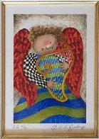 Musique Des Anges Suite of 4 1998 Limited Edition Print by Graciela Rodo Boulanger - 3