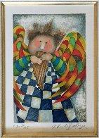 Musique Des Anges Suite of 4 1998 Limited Edition Print by Graciela Rodo Boulanger - 7