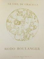 Zodiac Portfolio, Set of 12 and Cover 1976 (Rare) Limited Edition Print by Graciela Rodo Boulanger - 12