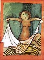 Zodiac Portfolio, Set of 12 and Cover 1976 (Rare) Limited Edition Print by Graciela Rodo Boulanger - 9