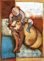 Zodiac Portfolio, Set of 12 and Cover 1976 (Rare) Limited Edition Print by Graciela Rodo Boulanger - 3