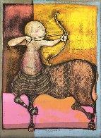 Zodiac Portfolio, Set of 12 and Cover 1976 (Rare) Limited Edition Print by Graciela Rodo Boulanger - 1