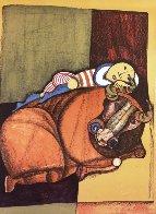Zodiac Portfolio, Set of 12 and Cover 1976 (Rare) Limited Edition Print by Graciela Rodo Boulanger - 5