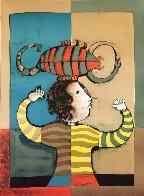 Zodiac Portfolio, Set of 12 and Cover 1976 (Rare) Limited Edition Print by Graciela Rodo Boulanger - 6