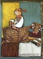 Zodiac Portfolio, Set of 12 and Cover 1976 (Rare) Limited Edition Print by Graciela Rodo Boulanger - 7