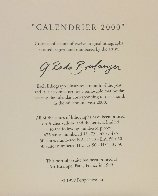Calender 2000 Suite, Set of 12 1999 Limited Edition Print by Graciela Rodo Boulanger - 15