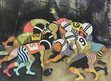 Football 1986 Limited Edition Print by Graciela Rodo Boulanger