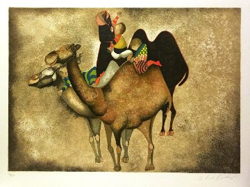 Three Camels Limited Edition Print by Graciela Rodo Boulanger