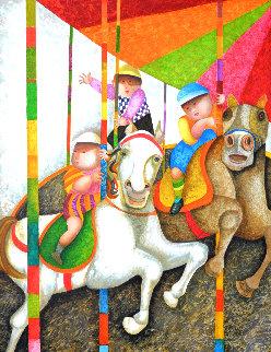 Tour Manege 2000 Limited Edition Print by Graciela Rodo Boulanger