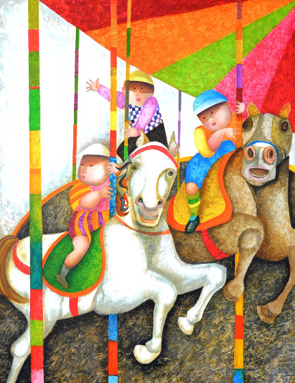 Tour Manege 2000 Limited Edition Print by Graciela Rodo Boulanger