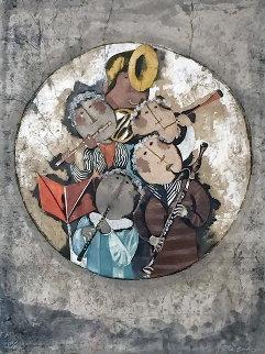 Quinttete a Vents 1974 Limited Edition Print - Graciela Rodo Boulanger