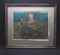 Mother and Child on a Bull 1960 (Early) Limited Edition Print by Graciela Rodo Boulanger - 1