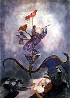 Magic Flute 1987 Limited Edition Print by Graciela Rodo Boulanger